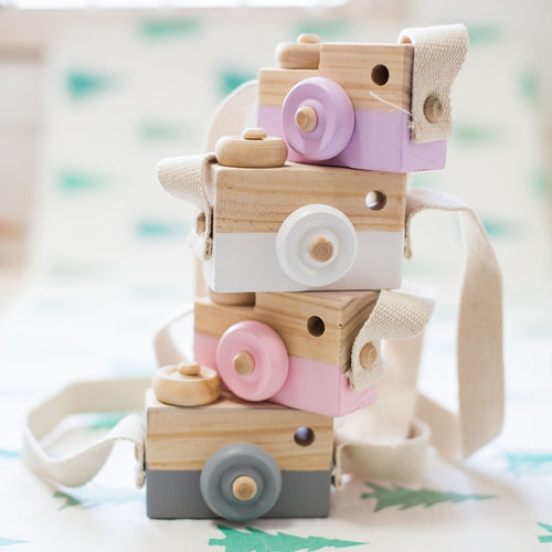 Wooden Camera Toy for Nursery/Kids Room