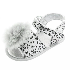 Animal Print Sandal for Toddler