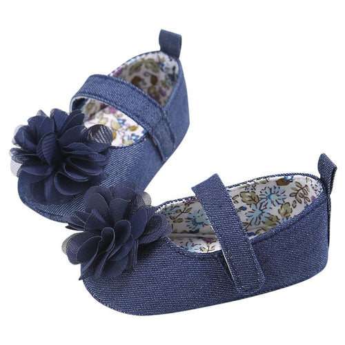Baby Denim Mary Jane Shoes