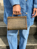 50s Antique Wooden Purse