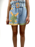 Vintage Shorts High Waisted