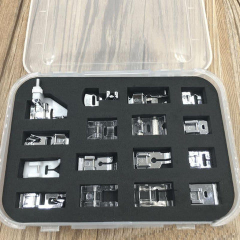 16 Piece Presser Foot Set