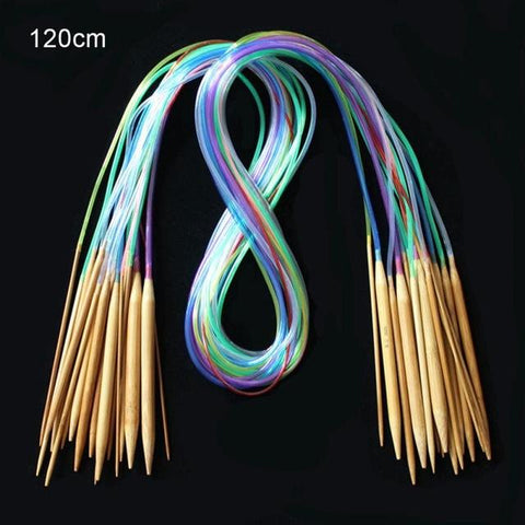 Image of Bamboo Circular Knitting Needles