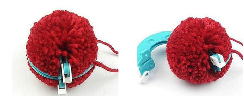 Pom Pom Maker Set 4 Sizes