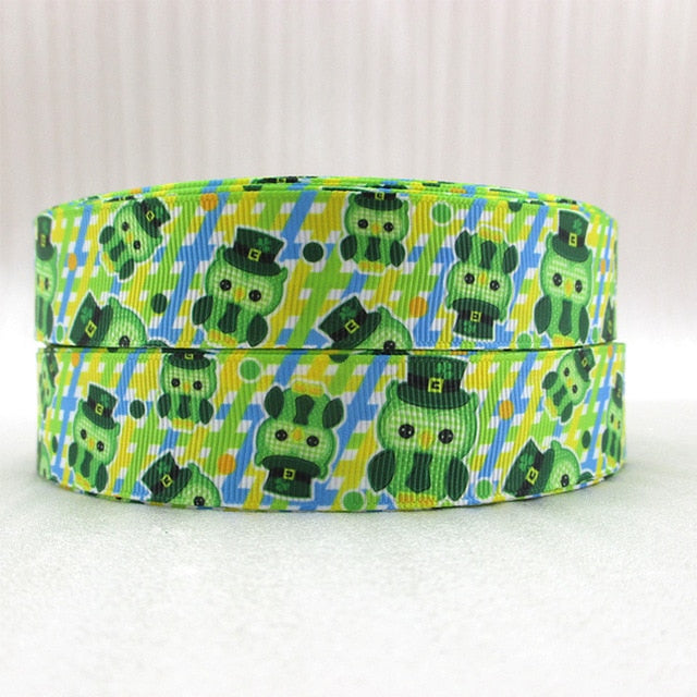 "St Patricks Gross Grain Value Ribbon 1"" x 10 yds"