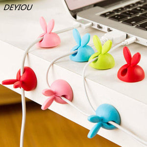 Rabbit Ears Cable Organizers 4 pc