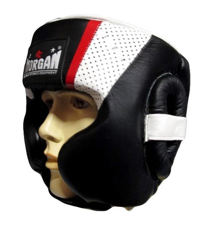 MORGAN V2 MEXICAN LEATHER HEAD GUARD