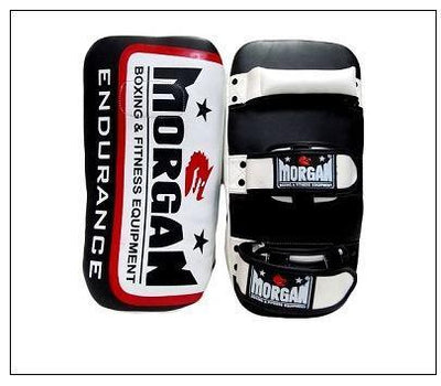 ENDURANCE GEL LEATHER CURVED THAI PADS (PAIR)