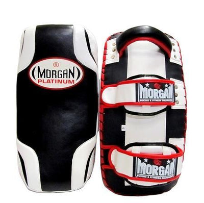 PLATINUM LEATHER GEL THAI PADS (PAIR) BRAND: MORGAN