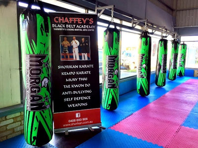 MORGAN BKK READY FOAM LINED 6FT X 38.5CM PUNCH BAG (EMPTY OPTION AVAILABLE)