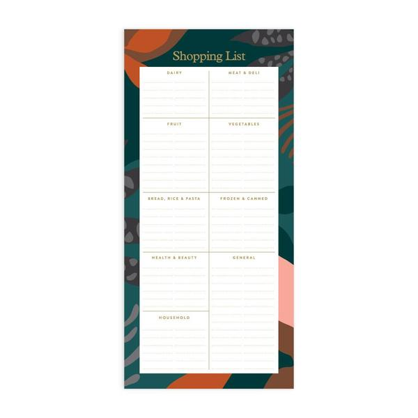 Arcadia DL Shopping List Magnet Notepad