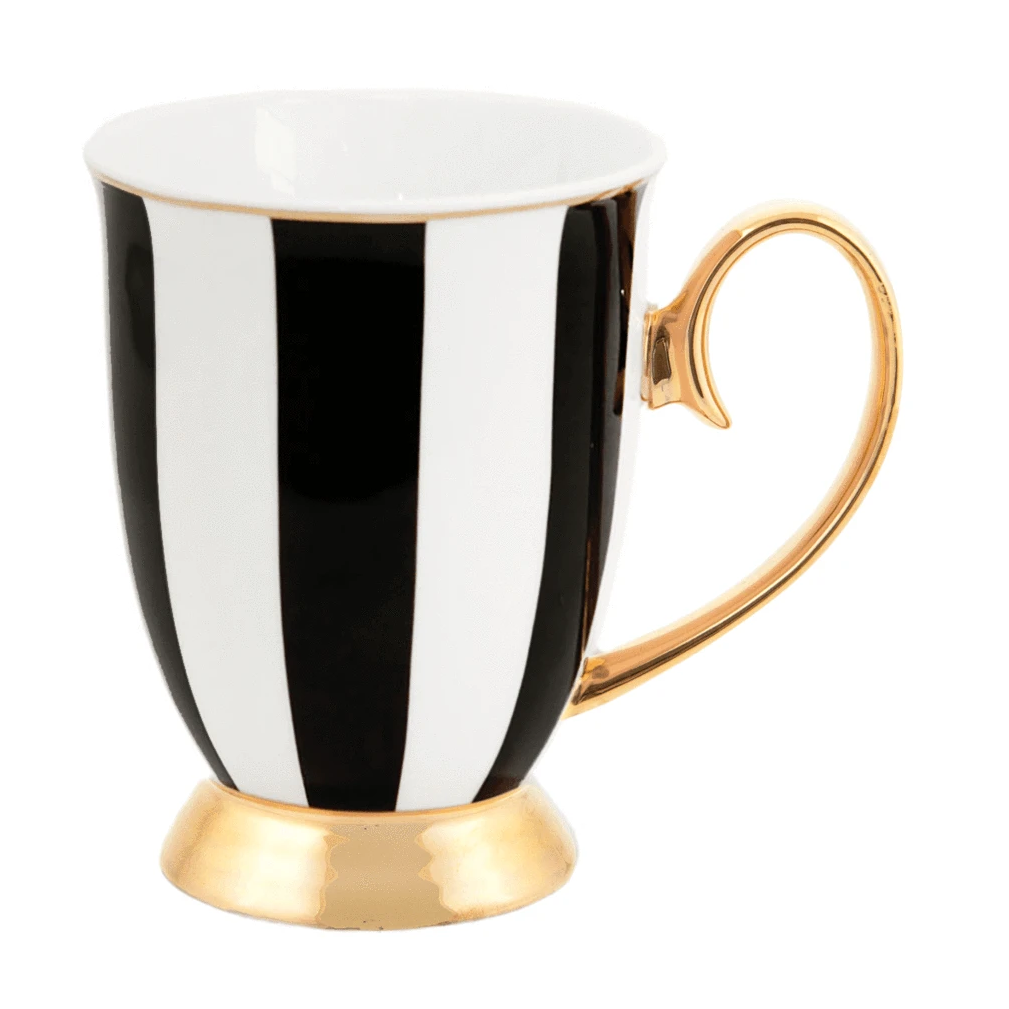 Ebony Stripes Mug