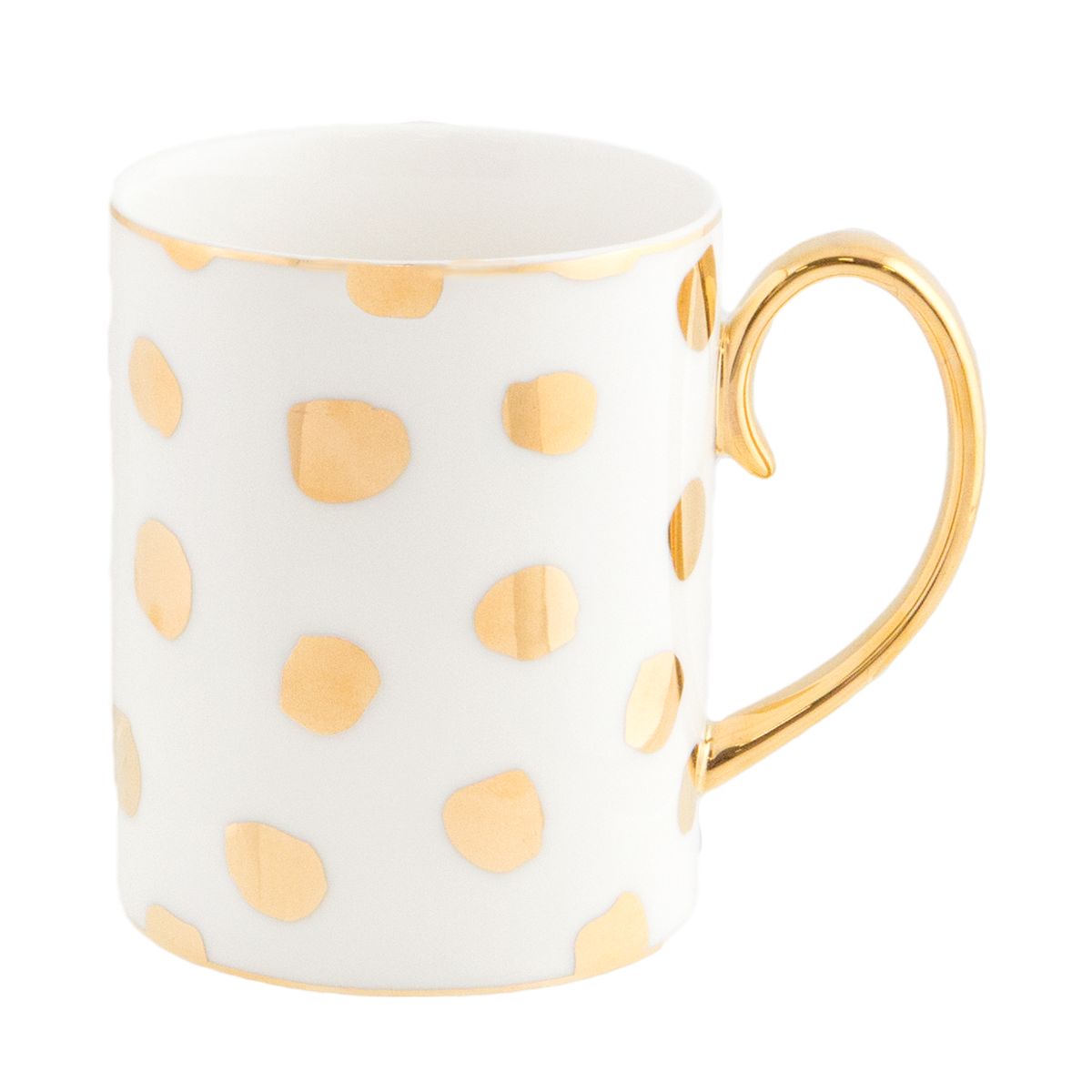 Luxury Polka D'Or Ivory Mug