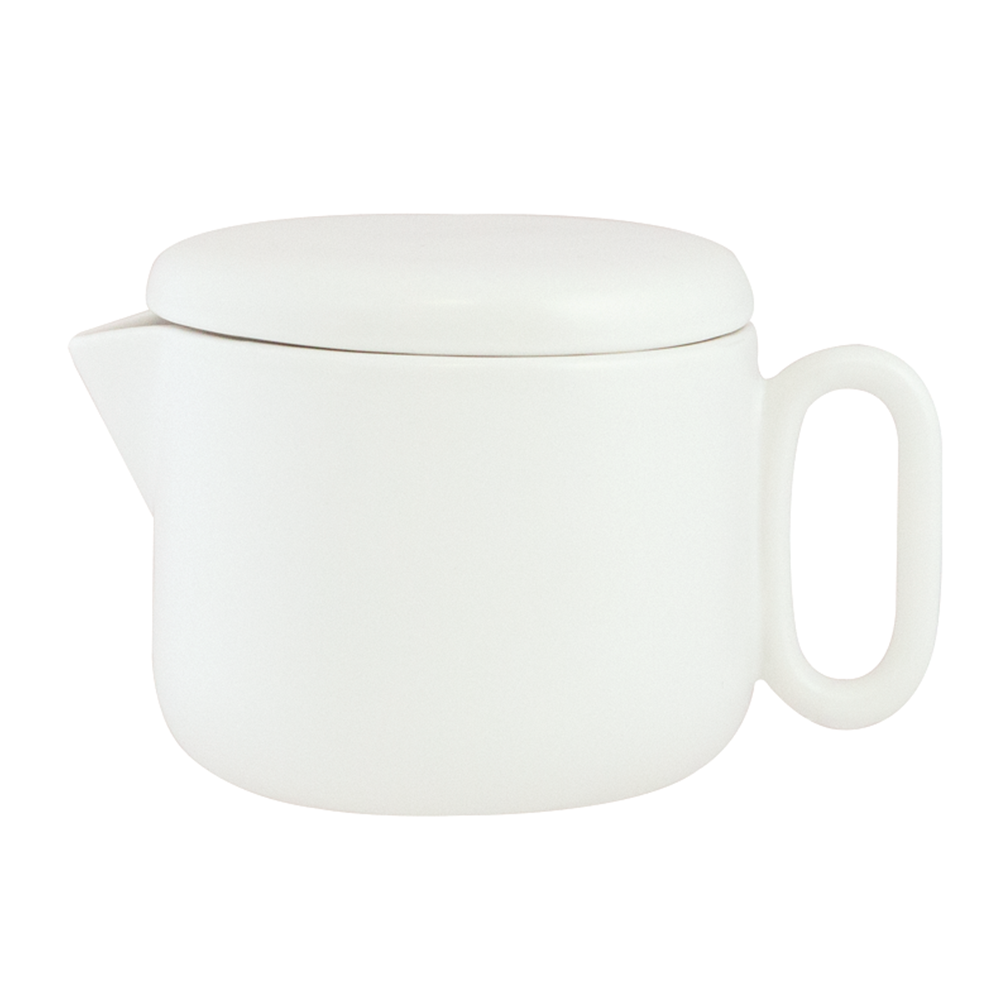 White Celine Everyday Teapot