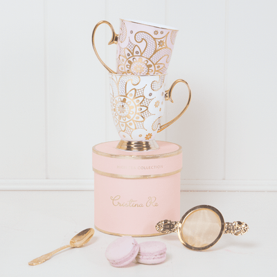 Georgia Lace Blush Mug