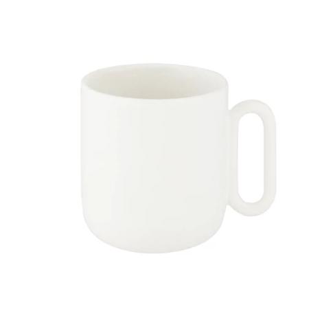 White Celine Everyday Mug
