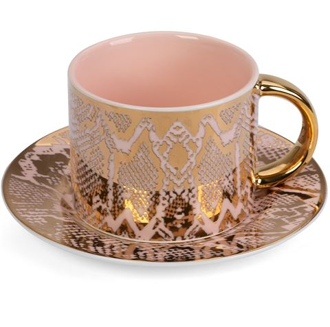 Safari Snakeskin Teacup & Saucer