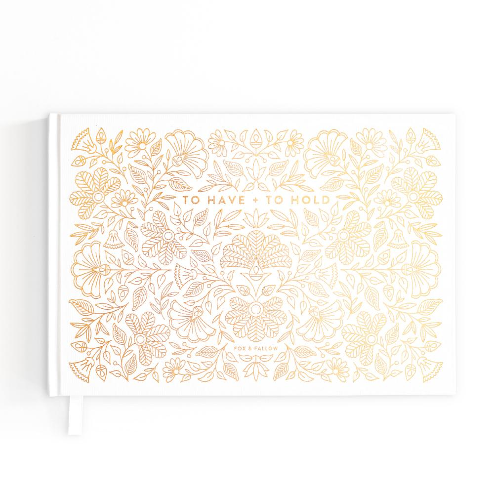 To Have & To Hold Wedding Guest Book