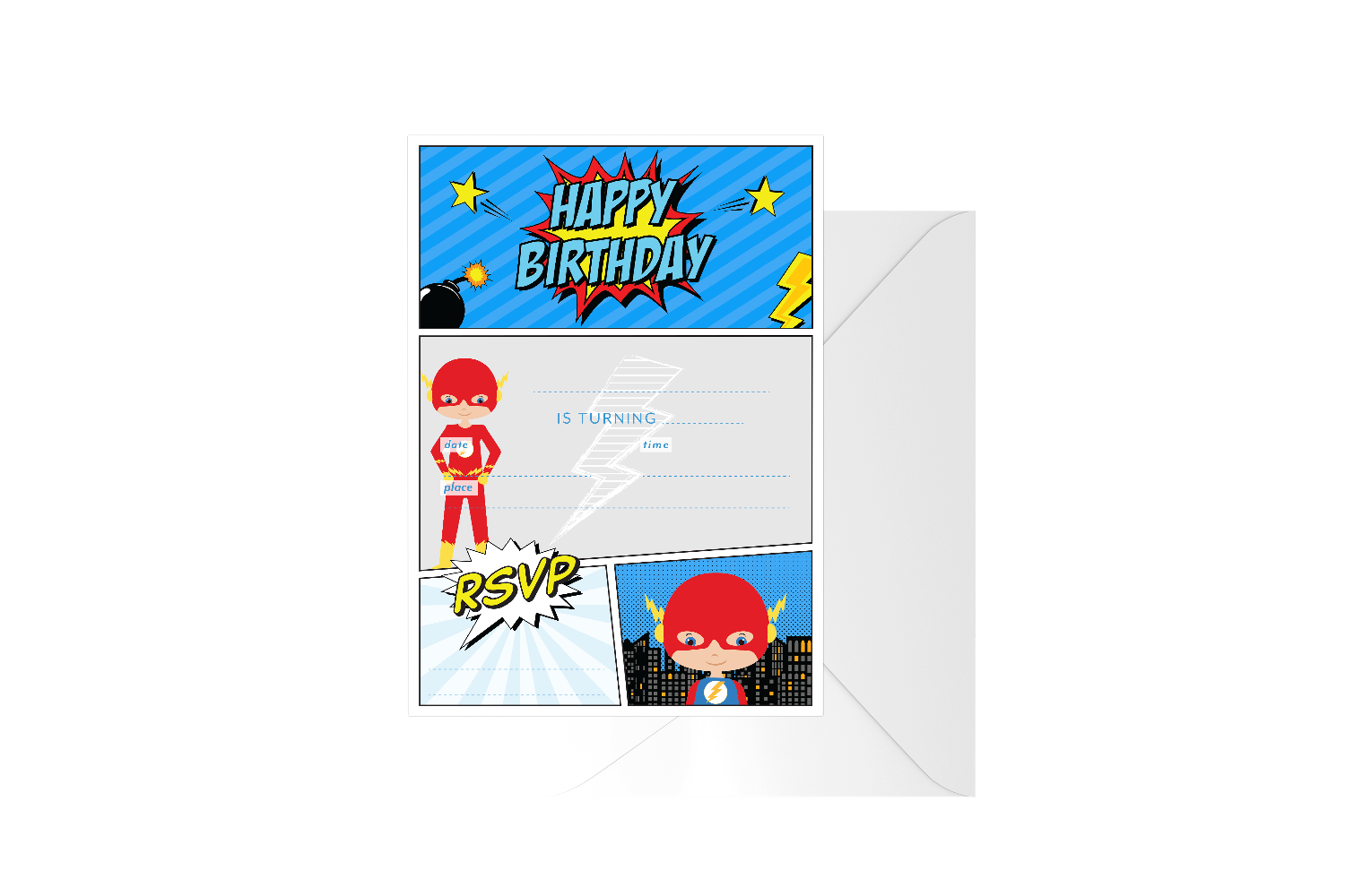 Flash Boy Fill In Birthday
