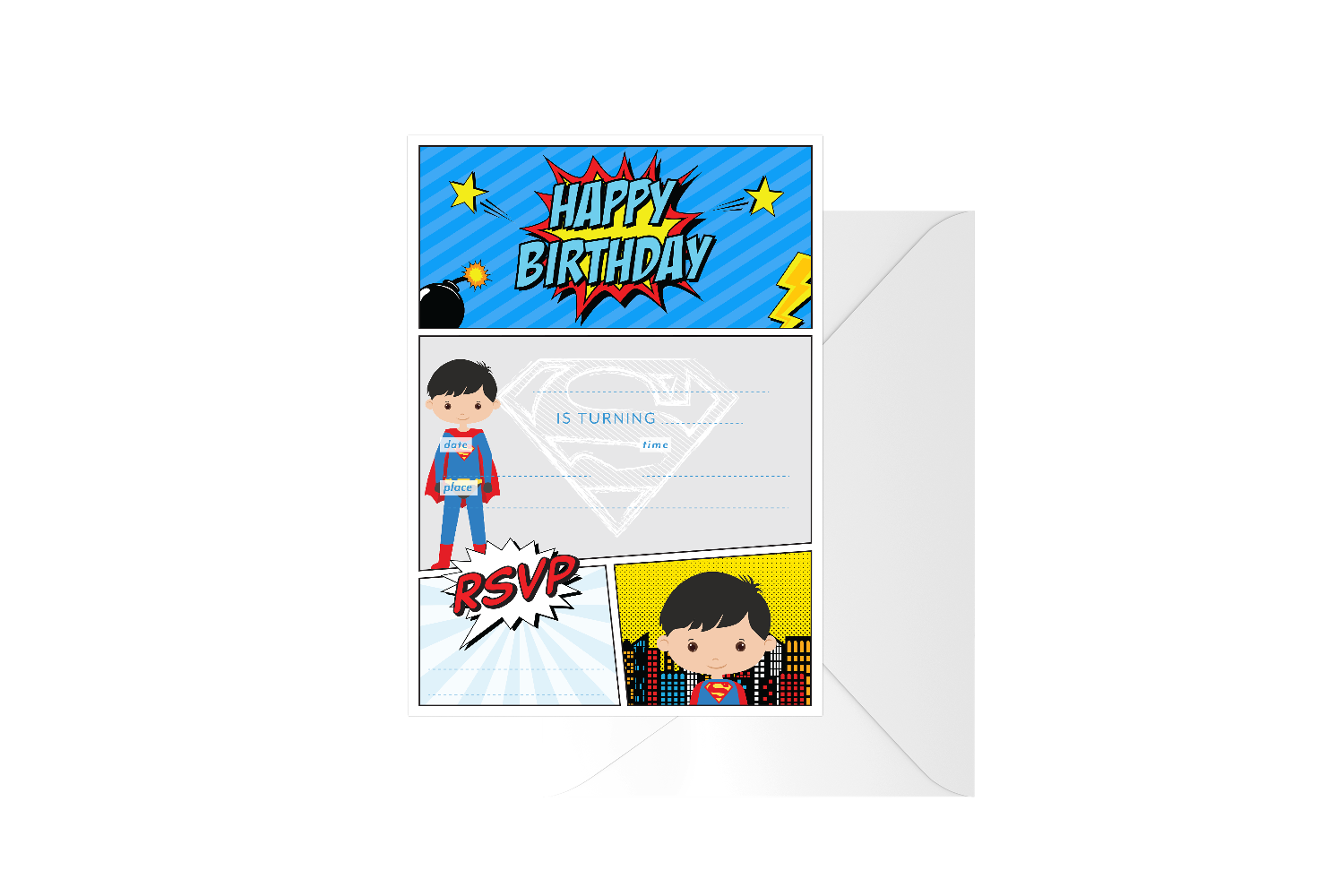 Super Boy Fill In Birthday