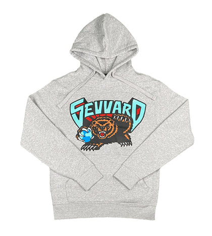 Grizzly Hoodie Grey