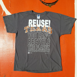 One of a Kind (Men's L) REUSE! Texas T-Shirt