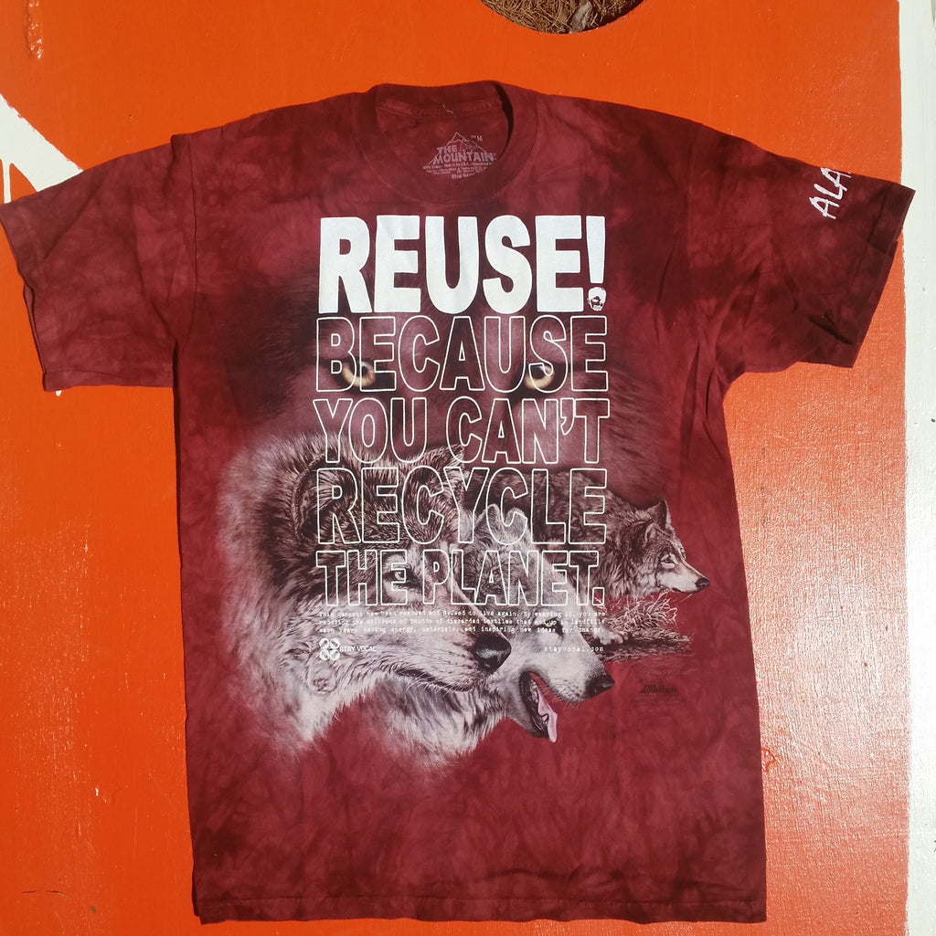 One of a Kind (Men's M) REUSE! Nine Wolves T-Shirt