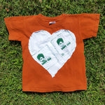 One of a Kind (Youth XS) Heart Patch Snot Rag T-Shirt