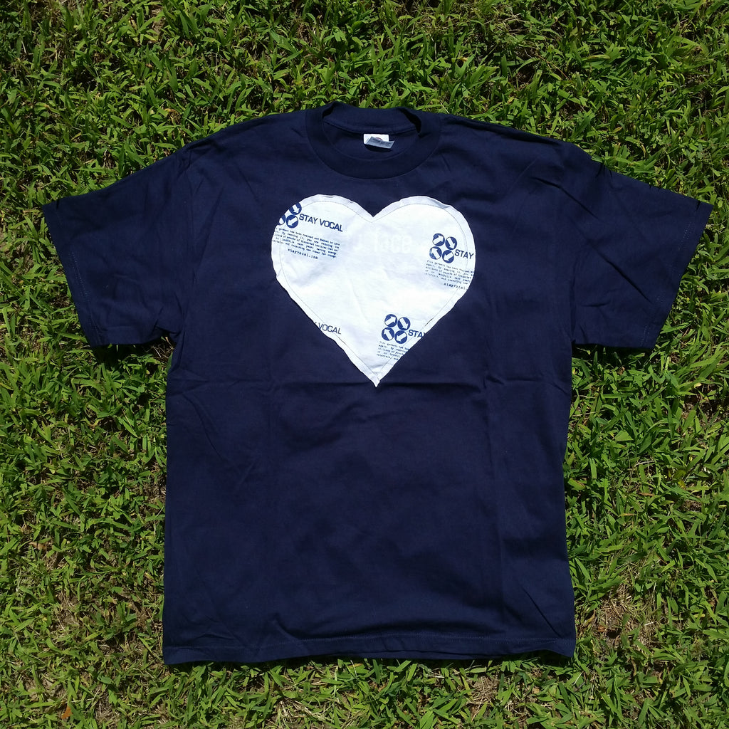 One of a Kind (Men's L) Heart Patch Logo T-Shirt