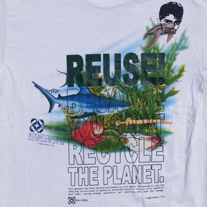 One of a Kind (Men's XL) REUSE! Under The Sea T-Shirt