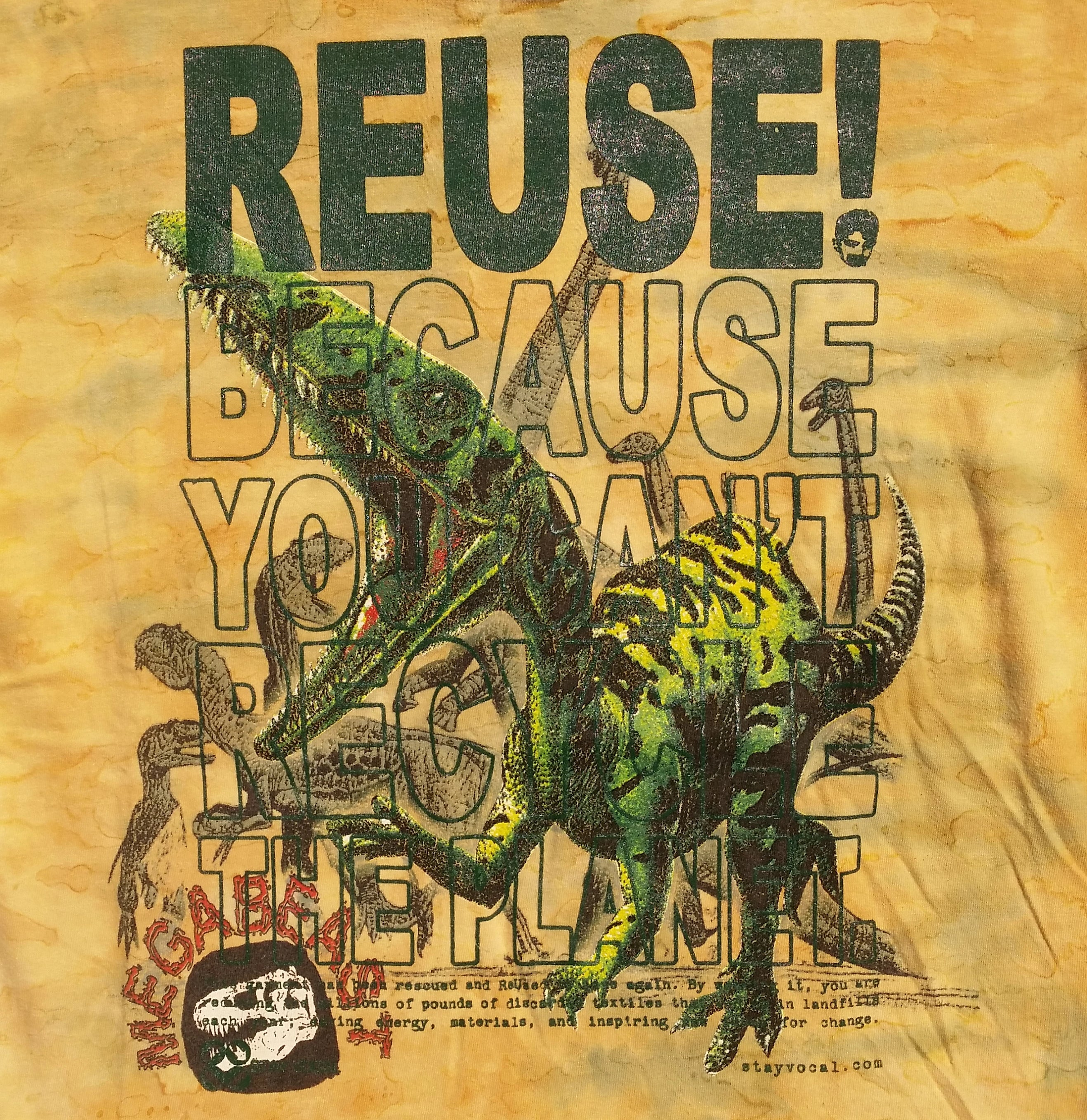 One of a Kind (Men's M) REUSE! Megabeast T-Shirt