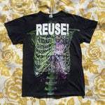 One of a Kind (Men's S) REUSE! Zombie Skeleton T-Shirt