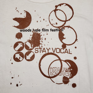 One of a Kind (Men's S) Coffee at the Woods Hole Film Festival T-Shirt