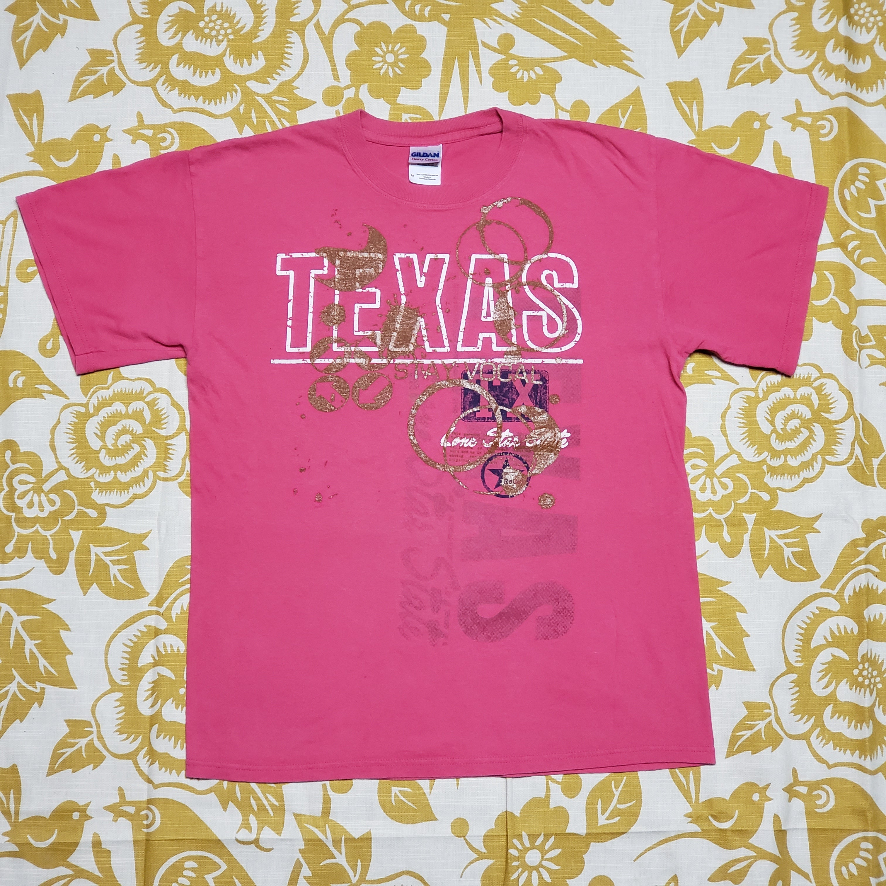 One of a Kind (Men's M) Coffee in the Lone Star State T-Shirt