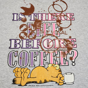 One of a Kind (Men's XL) Vintage Coffee Loving Cat T-Shirt
