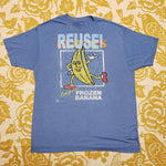 One of a Kind (Men's XL) REUSE! Frozen Bananas T-Shirt