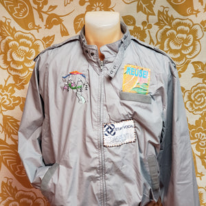 One of a Kind (Men's M) REUSE! In The Mountains Jacket by Carly Carte
