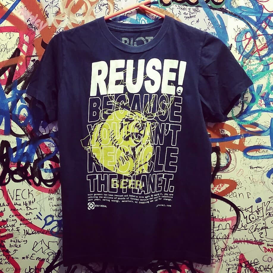 One of a Kind (Men's S) REUSE! Deer? Bear? BEER! T-Shirt