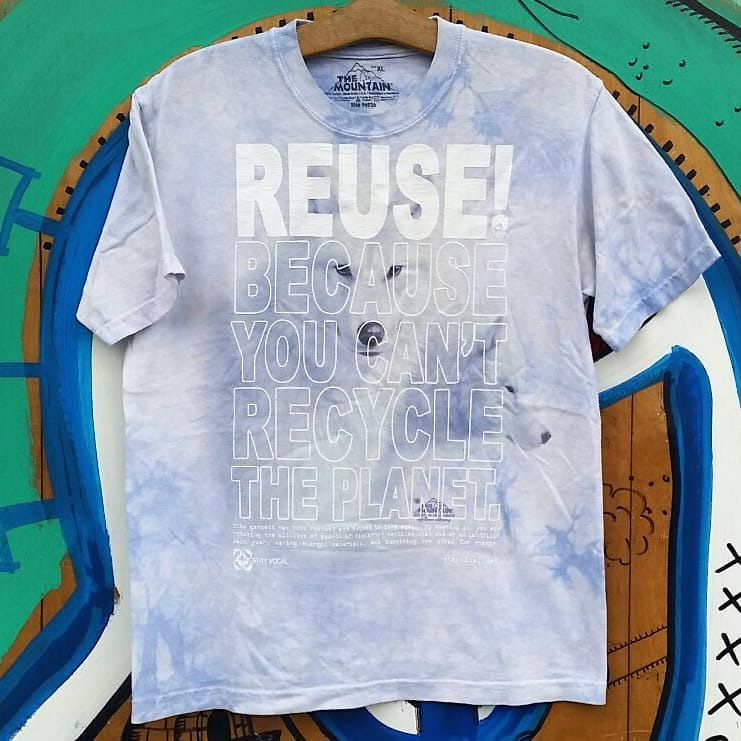 One of a Kind (Kids M) REUSE! Hiding Husky T-Shirt