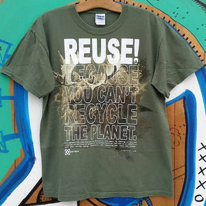 One of a Kind (Men's M) REUSE! Moose T-Shirt