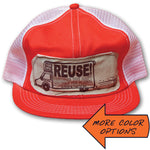 Snapback Mesh REUSE! Box Trucker Hat