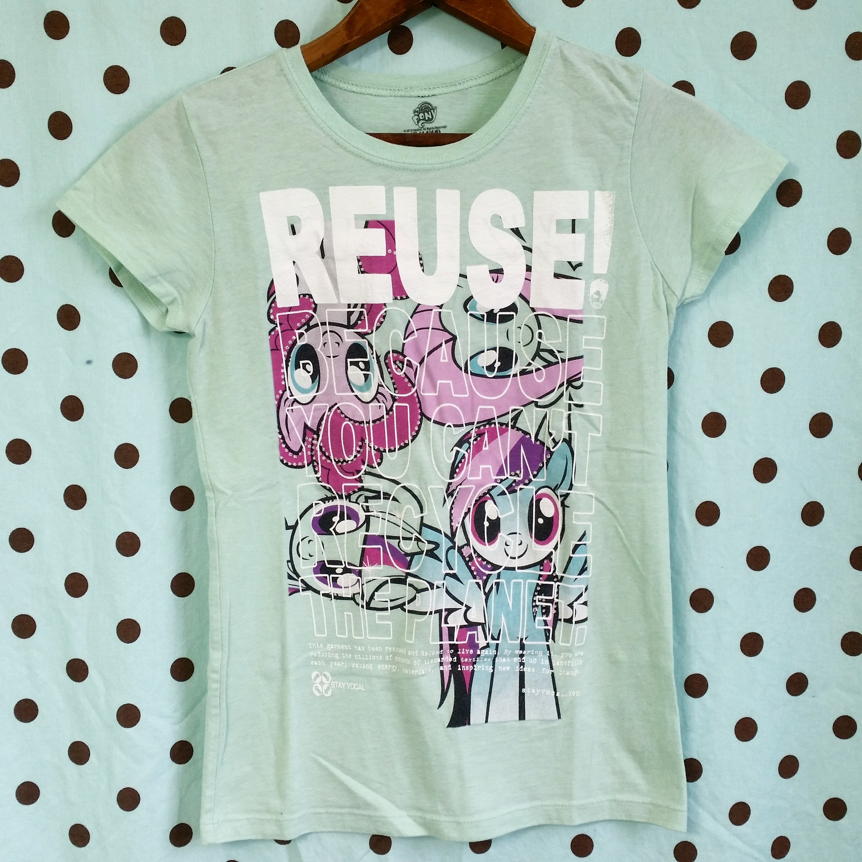 One of a Kind (Girl's XL) REUSE! Pony Posse T-Shirt