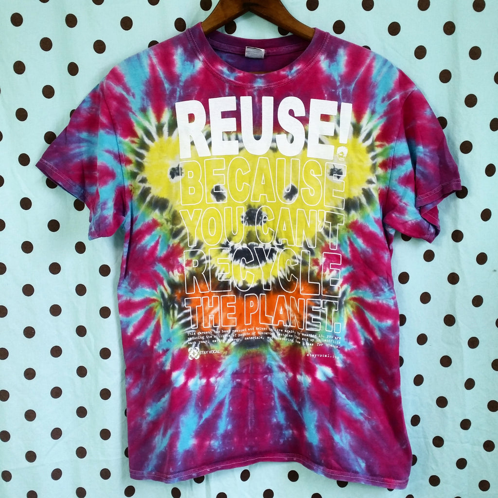 One of a Kind (Men's M) REUSE! Ripple Bear T-Shirt