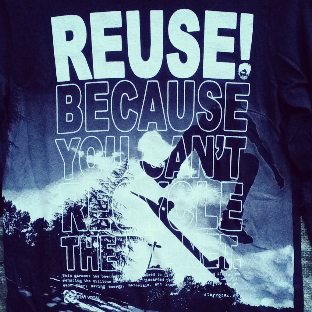 One of a Kind (Kids L) REUSE! Kickflip Long Sleeve T-Shirt