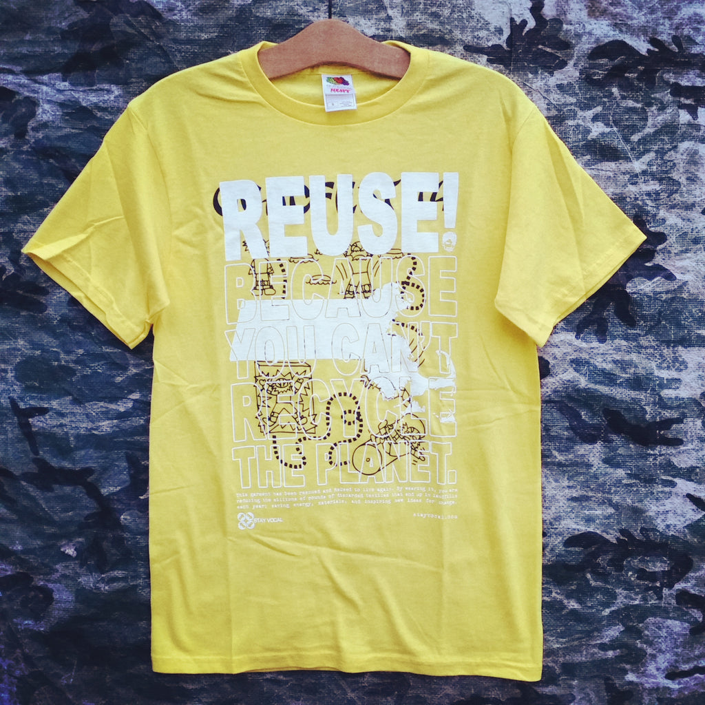 One of a Kind (Men's S) REUSE! Follow The Dude Fest T-Shirt