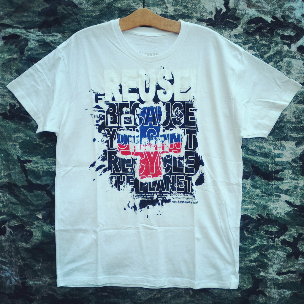 One of a Kind (Men's XL) REUSE! Haiti; For the Love T-Shirt