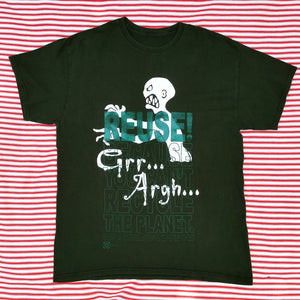 One of a Kind (Men's XL) REUSE! Grr Argh T-Shirt