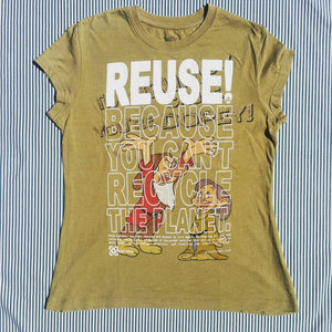 One of a Kind (Women's L) REUSE! What A Dope T-Shirt