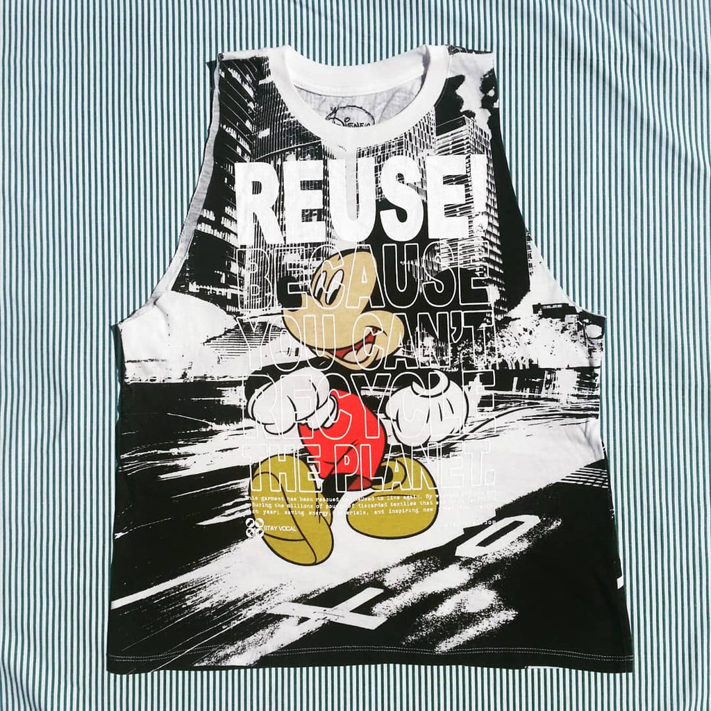 One of a Kind (Women's L) REUSE! Mouse on the Town Tank Top