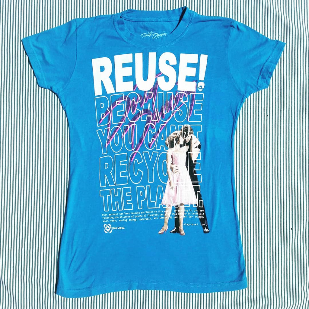 One of a Kind (Women's S) REUSE! Jennifer and Patrick T-Shirt